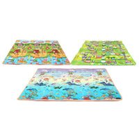 3 Size Baby Kids Floor Play Mat Rug