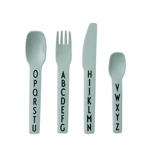 Kids Cutlery Set - Green