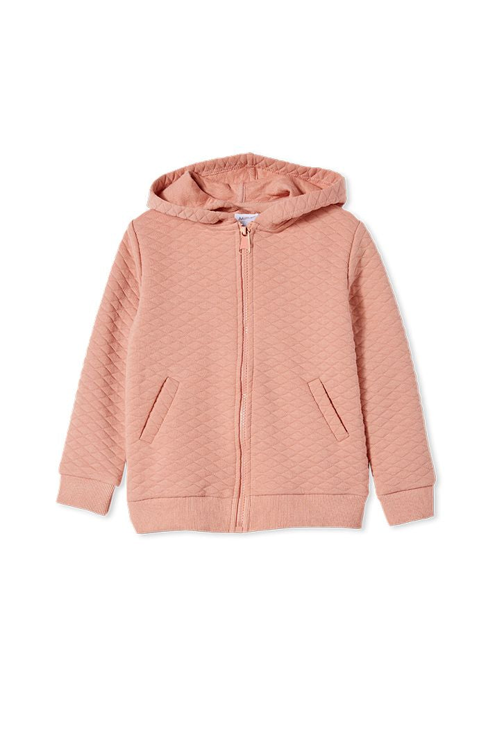 Quilted Hood Jacket (Girls)