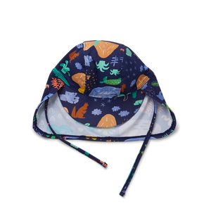 Beach Forest Kids Swim Hat