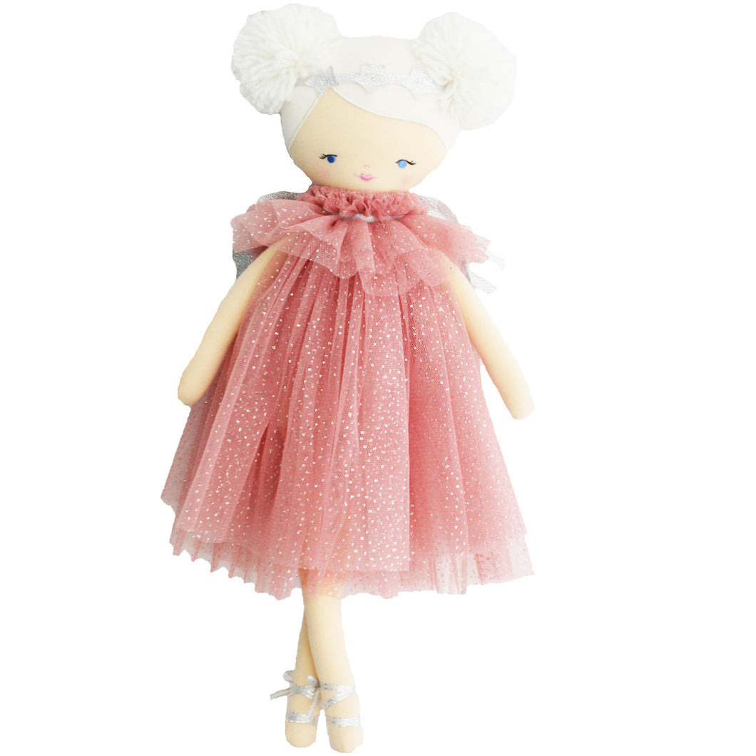 Ava Angel Doll - Blush Silver
