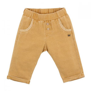 Boys French Terry Pants - Caramel