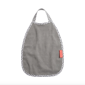 Done by Deer Pullover Bib Happy Dots - Grey