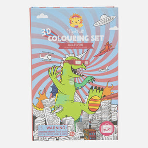 3D Colouring Set - Sci Fi Fun