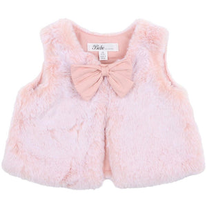 Mila Fur Vest (Girls)