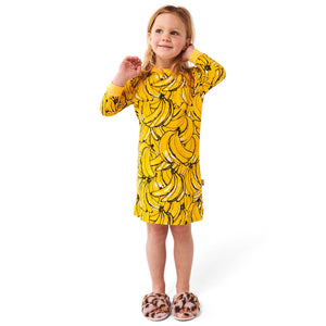 Bananas Long-Sleeve Nightie