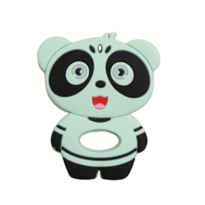 Jellies Panda Teether - Mint