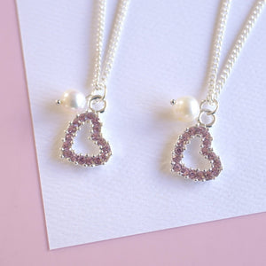Mother-Daughter Twinning Necklace Set