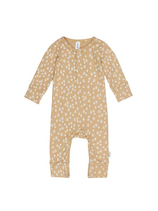 Honey Bee Rib Romper