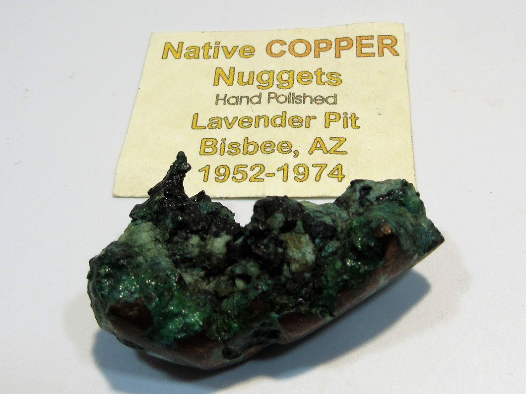 Kupfer Nugget handpoliert copper mine USA
