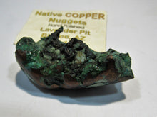 Laden Sie das Bild in den Galerie-Viewer, Kupfer Nugget handpoliert copper mine USA