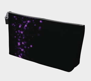 ANNU BLACK PIXIE DUST MAKE-UP BAG