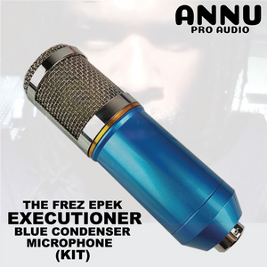 ANNU PRO AUDIO - THE FREZ EPEK EXECUTIONER BLUE CONDENSER MICROPHONE KIT