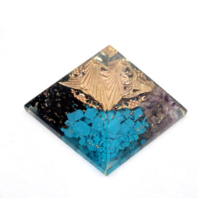 4 Colors Orgone Pyramid