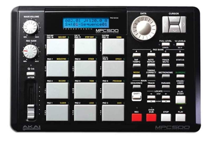 ANNU PRO AUDIO - AKAI MPC 500 Music Production Sampler / Drum Machine 128MB  (USED)