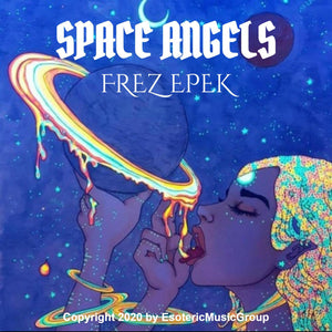 """SPACE ANGELS"" prt1 By FREZ EPEK digital download track  1 Melanin Monroe"