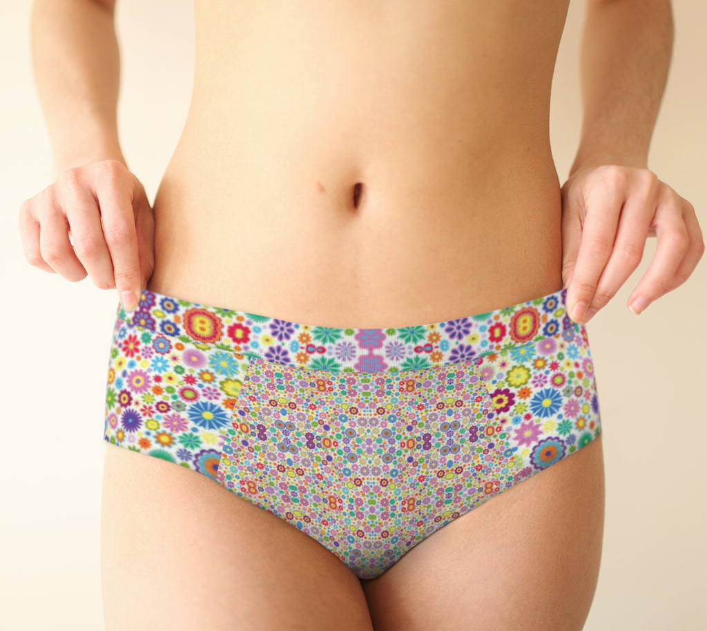 ANNU - HOUR OF FLOWERS UNDERWEAR ATTIRE