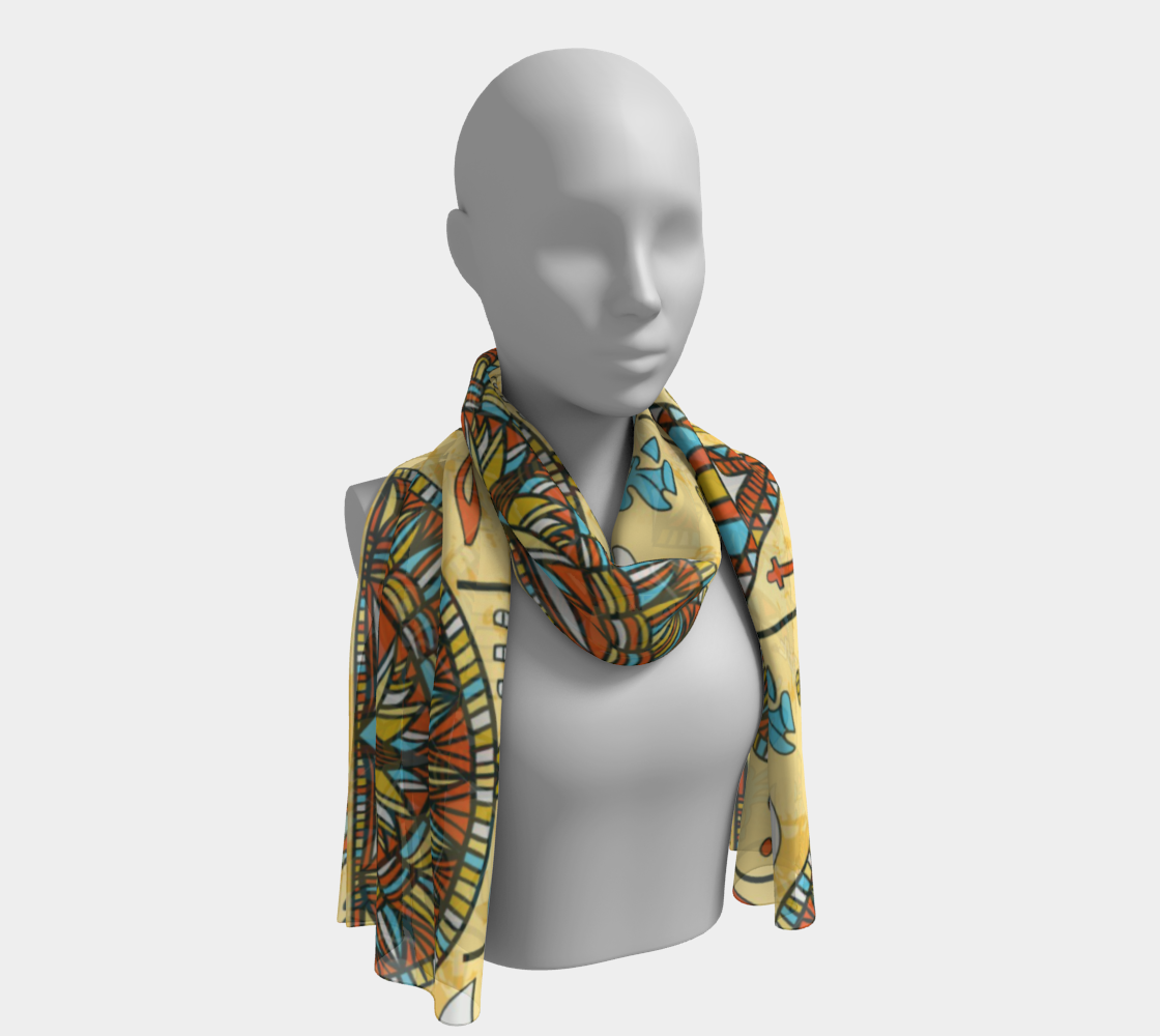 ANNU - EGYPT BY NIGHT SCARF