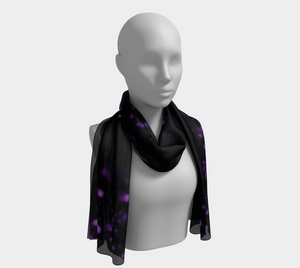 ANNU BLACK PIXIE DUST SCARF