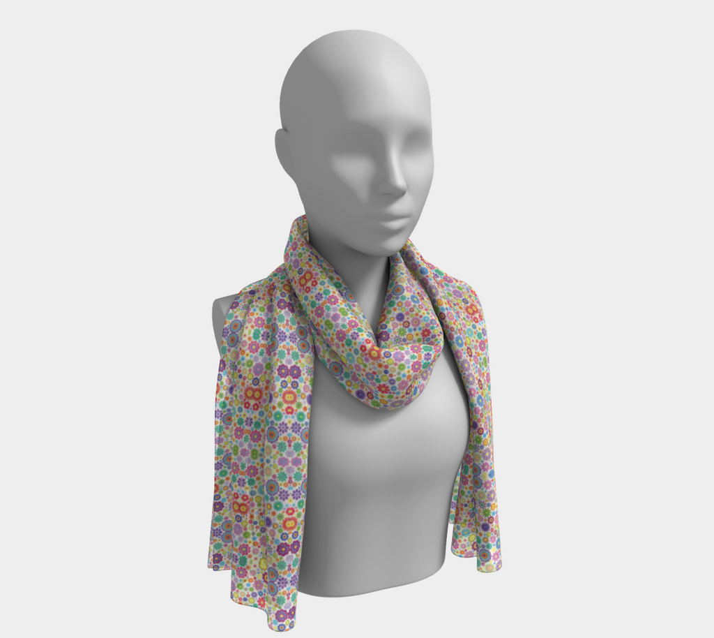ANNU - HOUR OF FLOWERS SCARF