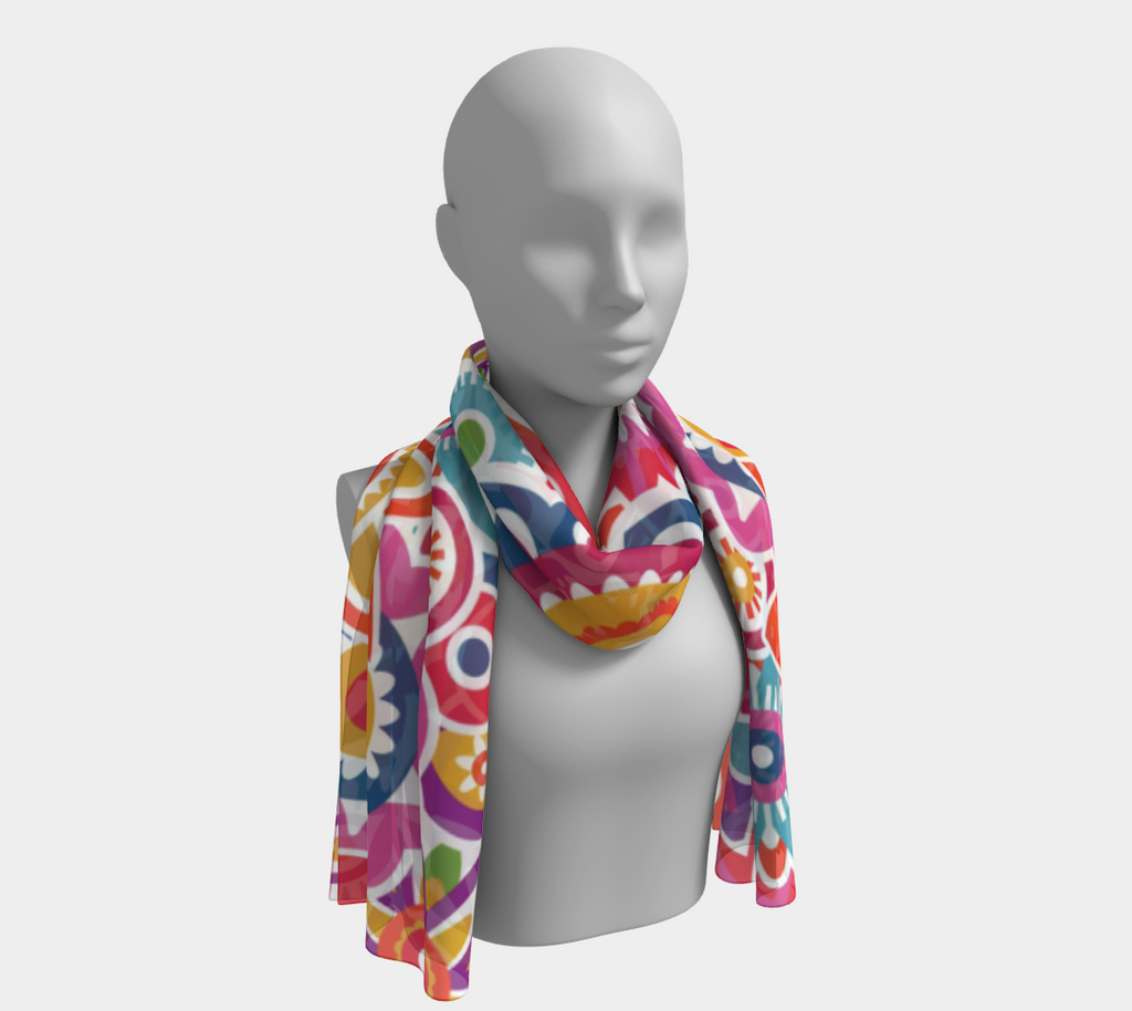 ANNU FOWERS FOR SURE SCARF