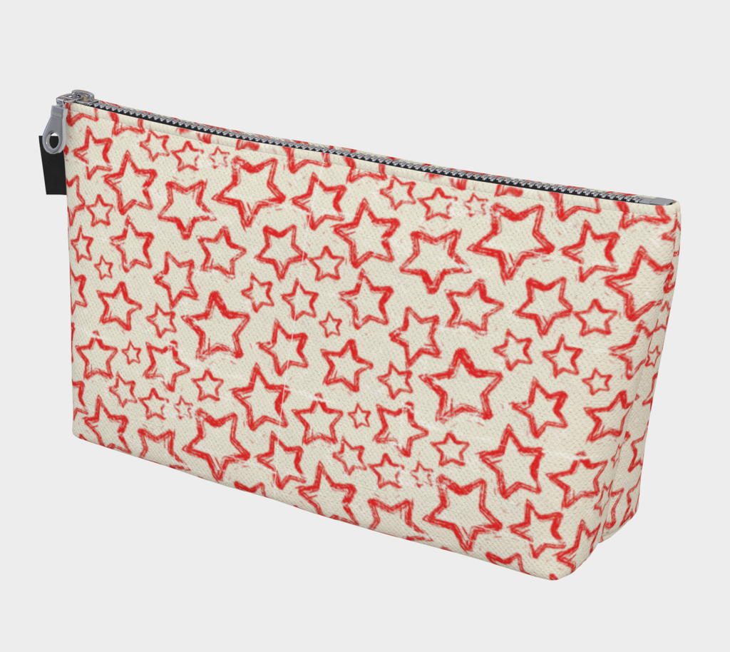 ANNU - RED STAR MAKE-UP BAG