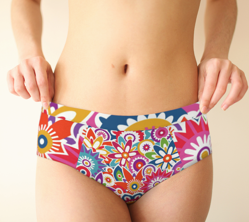 ANNU FLOWERS FOR SURE UNDERWEAR ATTIRE