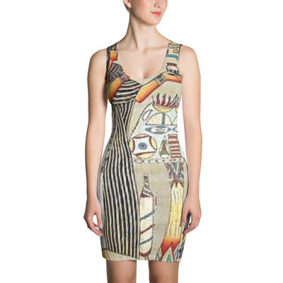 ANNU Queen's Chamber Sublimation Cut & Sew Dress