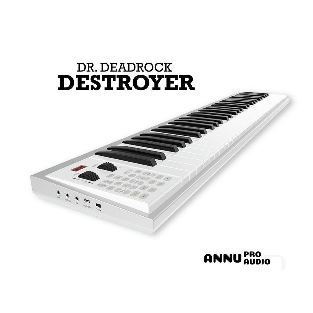 ANNU PRO AUDIO - DR. DEADROCK DESTROYER 61 KEY MIDI KEYBOARD CONTROLLER