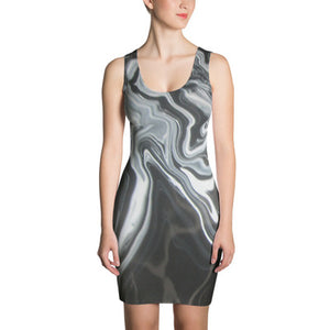 ANNU (Melting Metal) Sublimation Cut & Sew Dress