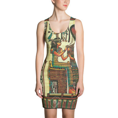 ANNU Classic Queen Isis Sublimation Cut & Sew Dress