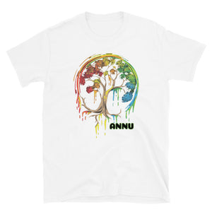 ANNU - COLOR OF WINTER Short-Sleeve T-Shirt