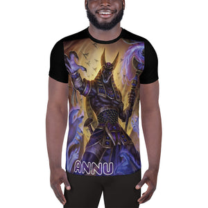 ANNU - ANUBIS 2 All-Over Print Men's Athletic T-shirt