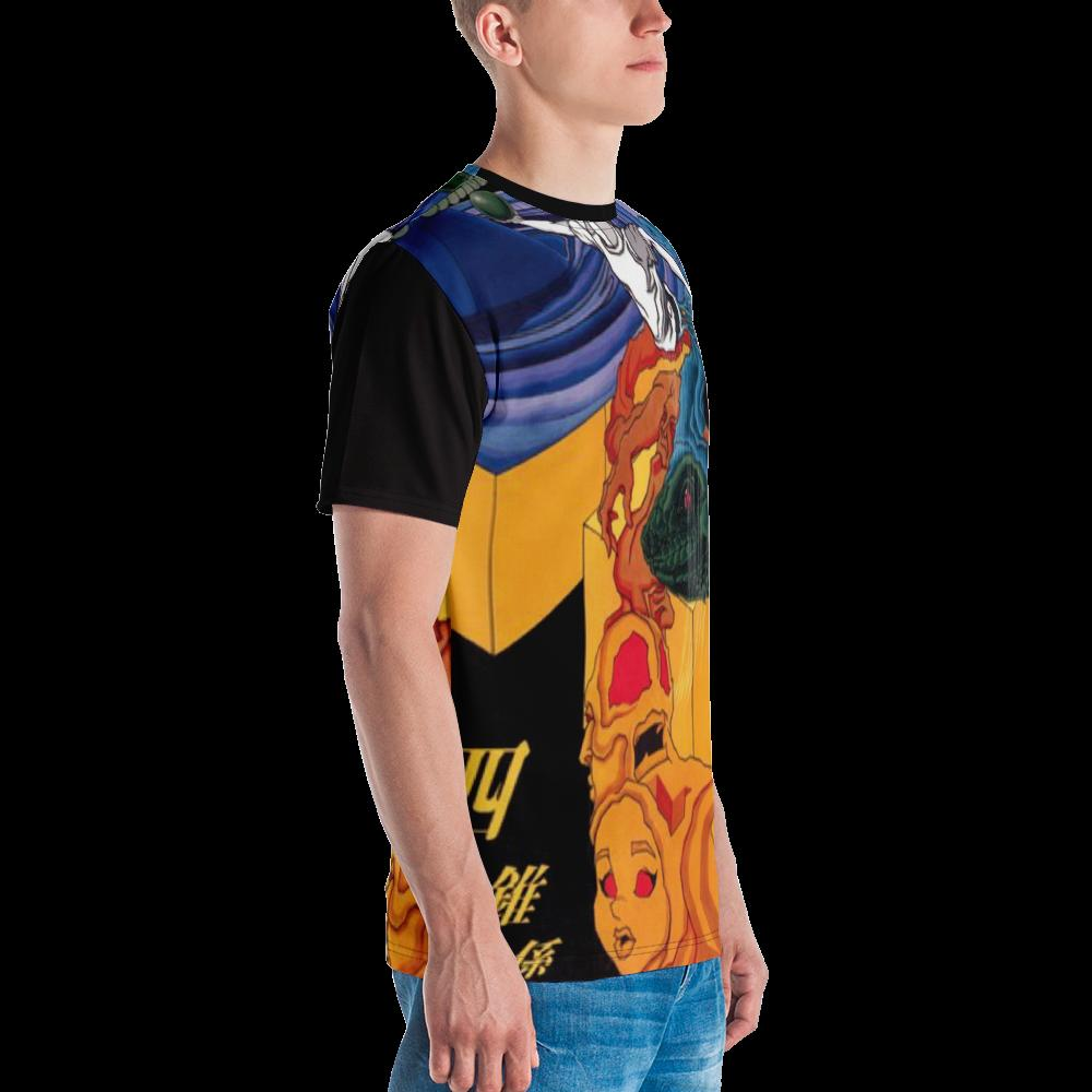 ANNU -  RADIOINACTIVE (PYRAMIDI) EMG All-Over Print Men's Crew Neck T-Shirt