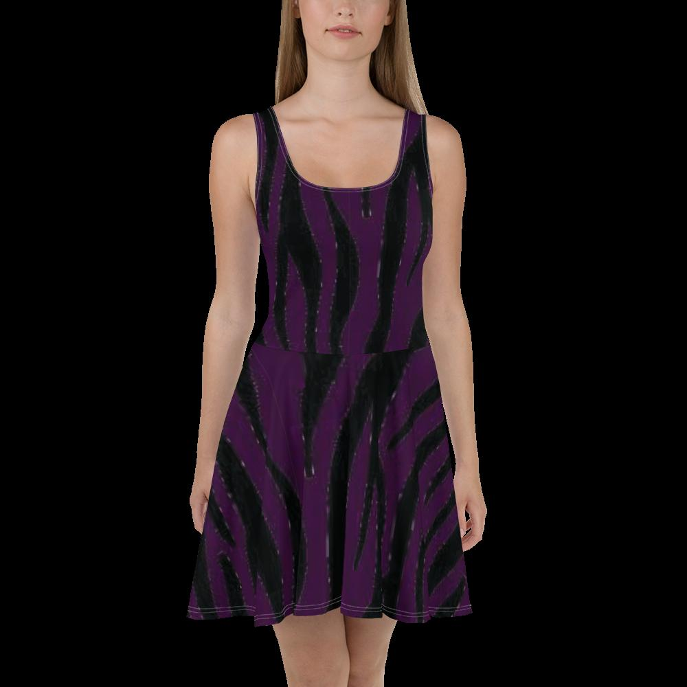 ANNU Purple Matrix Dress