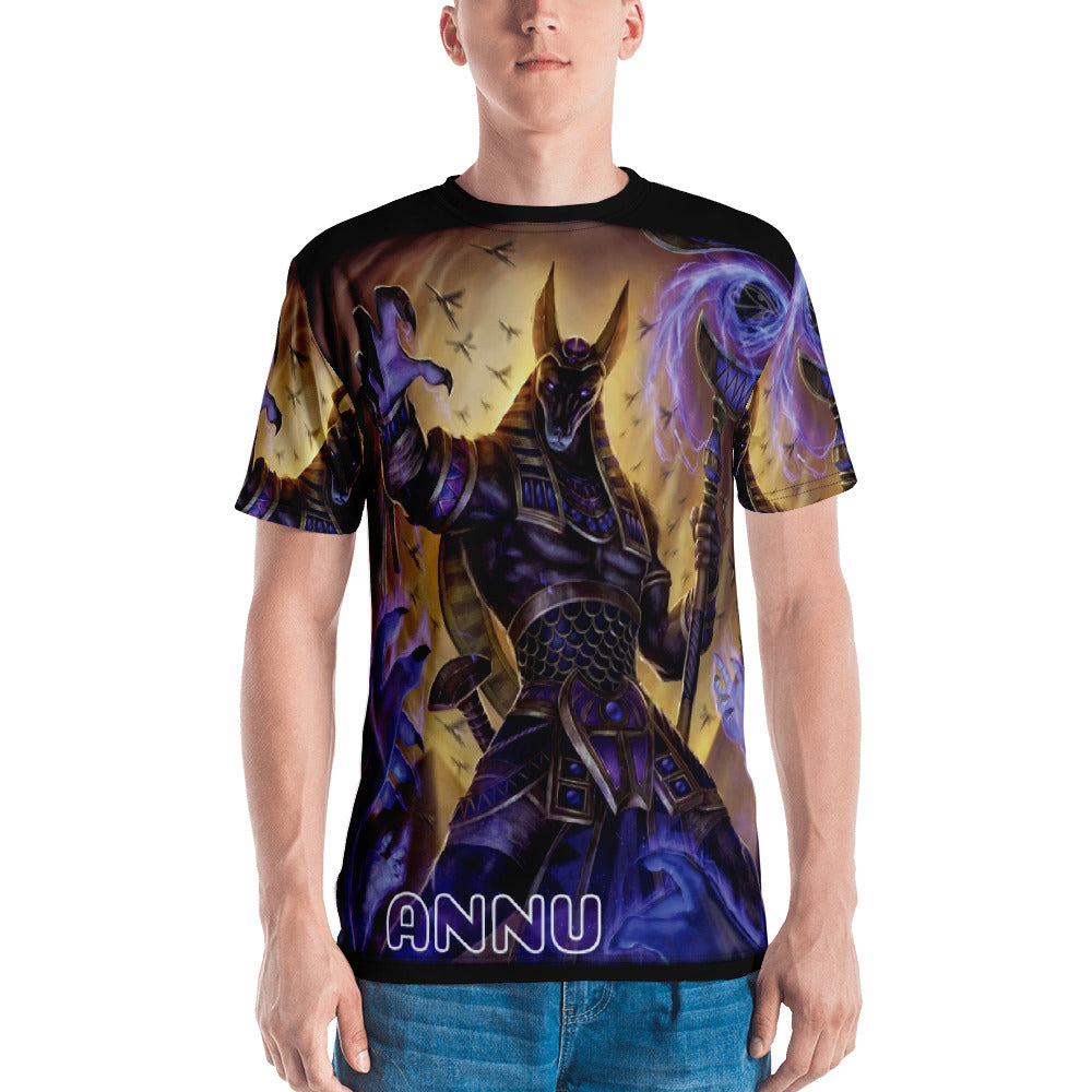 ANNU - ANUBIS ALL OVER PRINT Men's T-shirt