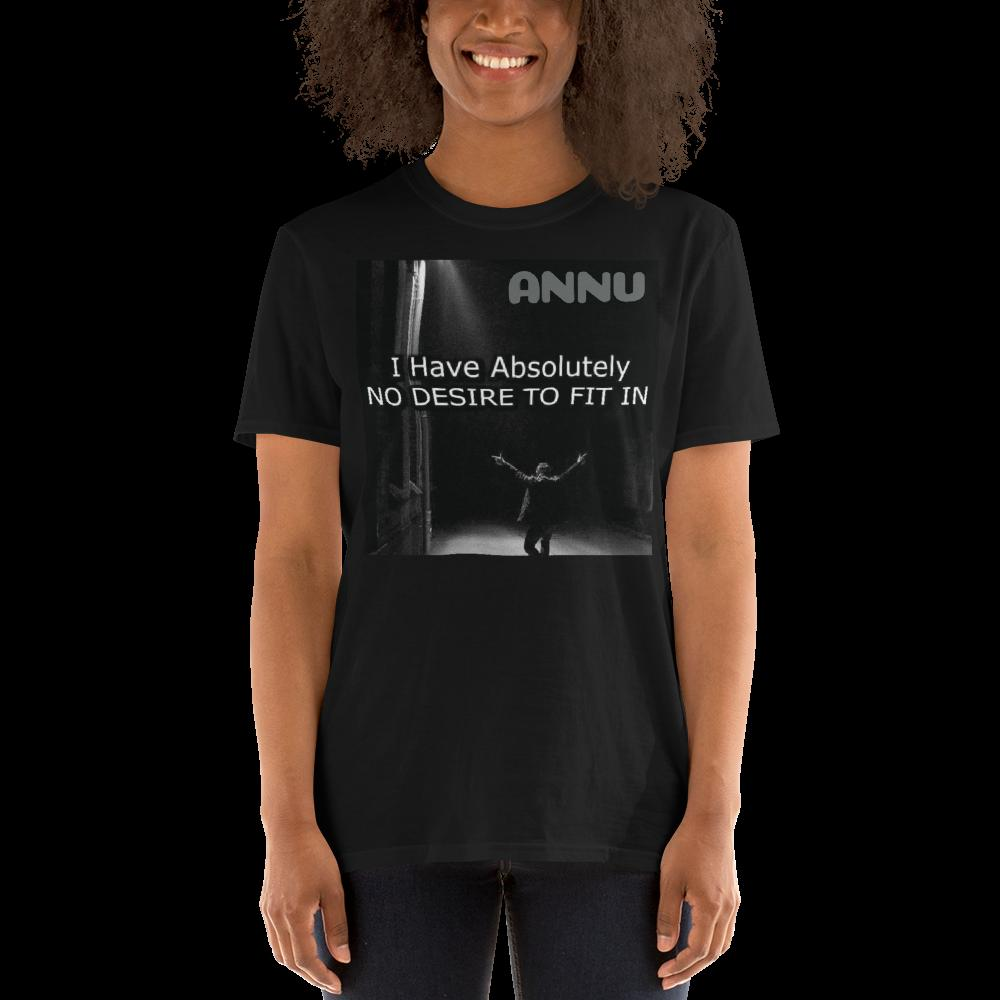 ANNU - T-Shirt with Tear Away Label