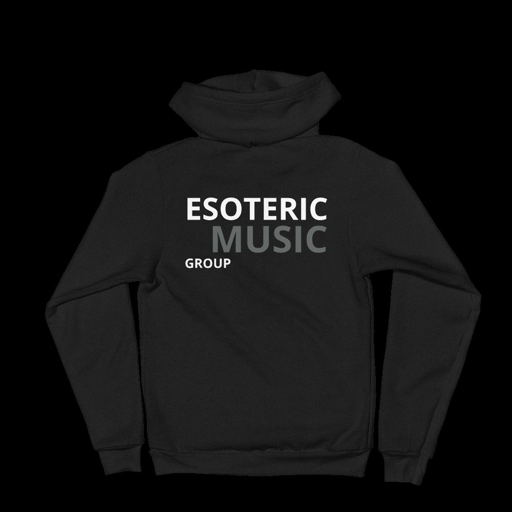ESOTERIC MUSIC GROUP Classic Black Hoodie sweater