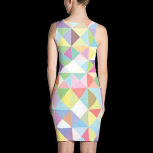 ANNU TRI-SEQUENCE Sublimation Cut & Sew Dress