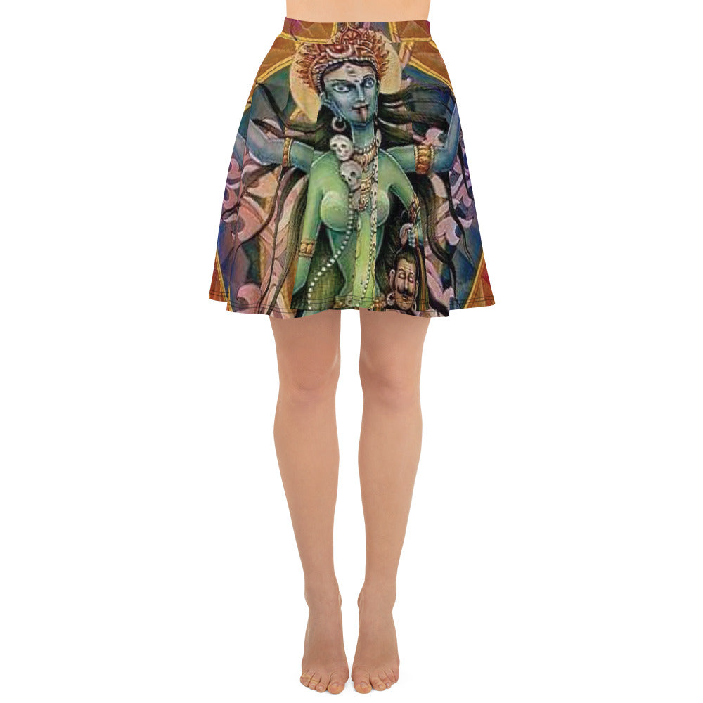 ANNU - SHIVA (GREENCHILD) All Over Print Skirt