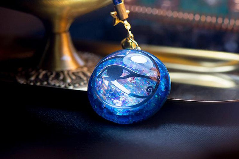Orgonite Handmade Egyptian Pharaoh's Eye Pendant