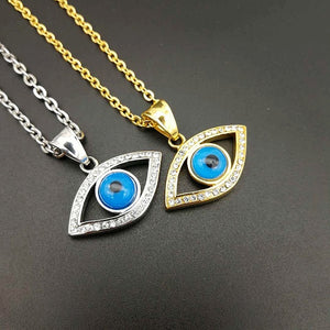 Egyptian eyes  Necklaces New Pendant Religious Egyptian Eye Stainless Steel  Necklace Stainless Steel Jewelry best gift g0144