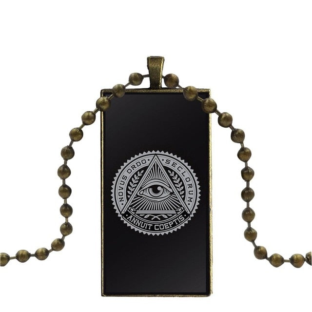 Esoteric Assorted Jewelery Glass Pendant Necklaces