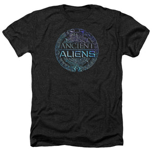 Ancient Aliens Tv Show Symbol Logo Licensed Adult Heather High Quality T-Shirt All Sizes Cool Casual T Shirt Men Unisex Fashion