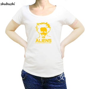 Ancient Aliens Giorgio Tsoukalos female T-Shirt Size S to 3XL