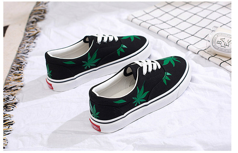 "ANNU STREET WEAR ""HARVEST"" Sneakers Low-cut Shoes Woman High Quality Classic Skateboarding"