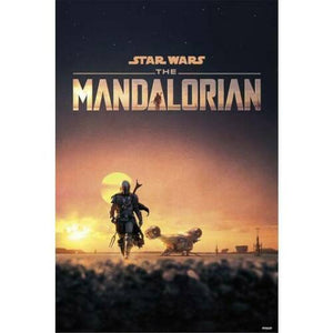Mandalorian - Crépuscule oil paintings canvas Prints Wall Art For Living Room Bedroom Decor