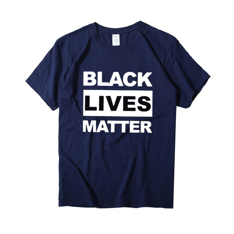 """BLACK LIVES MATTER"" Big Fat Plus Size O-neck T Shirts"
