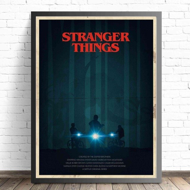 Stranger Things Movie Posters and Prints Wall art Decorative Picture Canvas Painting For Living Room Home Decor Unframed