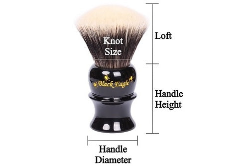 Premium Shaving Brush Specifications 500 Pix